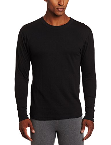 Duofold Men's Mid Weight Wicking Thermal Shirt, Black, X-Large (Champion Black Shirt compare prices)