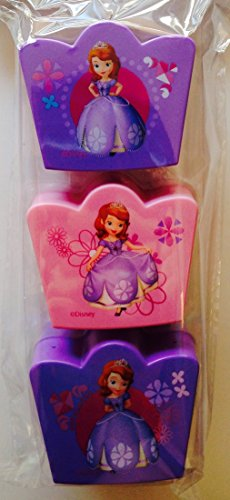 Disney Sofia the First Treat Containers ~ 3 count - 1