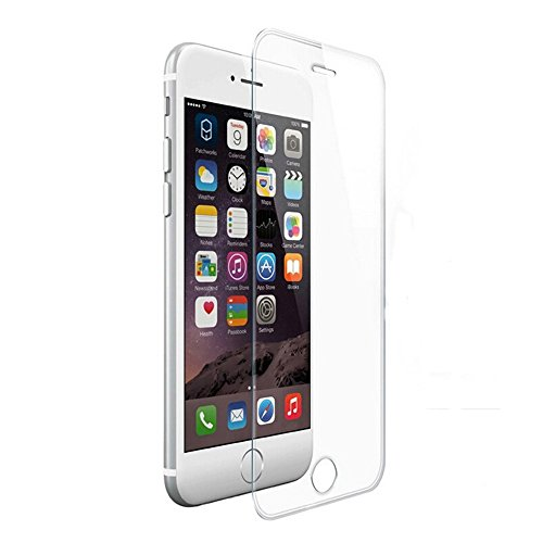 iPhone 6S Glass Screen Protector, Sophia Shop 0.33mm 9H HD Extra Clear Premium Tempered Glass Screen Protector[99.99% Clarity and Accuracy]Anti-scratch Anti-shatter For iPhone 6/6S(4.7inch)