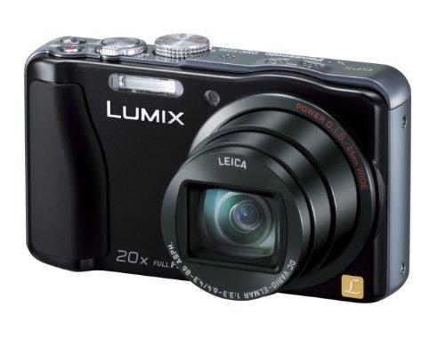 Panasonic デジタルカメラ ルミックス GPS搭載 高倍率 ブラック DMC-TZ30-K