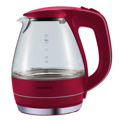 Great Features Of 1.59-qt. Electric Tea Kettle Color: Red