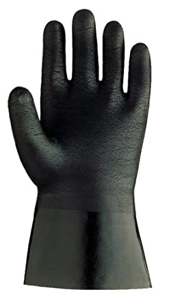 Showa Best Neo Grab Neoprene Coated Glove, Cotton Liner, Chemical Resistant