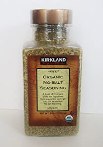 Kirkland Organic No-Salt Seasoning-14.5 oz
