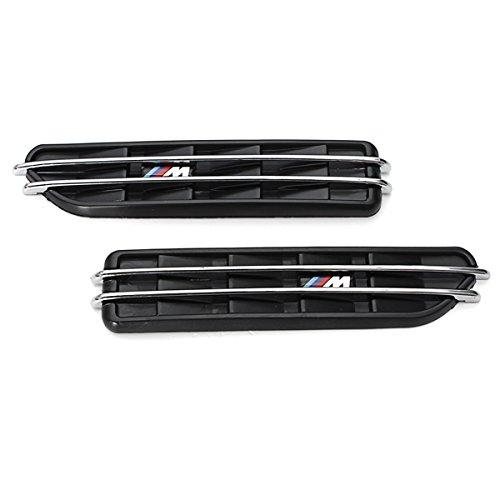 Air Flow Fender - TOOGOO(R) Air Flow Side Fender Vents Mesh Sticker Grille For BMW E60 M5 E61 E39 E90 M3 E46 (Bmw E90 Vents compare prices)