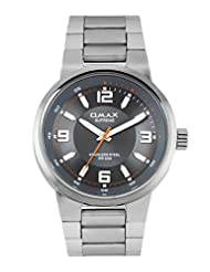 OMAX ANALOG STAINLESS STEEL CASUAL WATCH FOR MEN (MONTRES OMAX S.A. - A SWISS WATCH COMPANY) ...