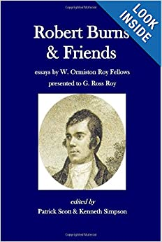 robert burns essay Despite his later fame as the best scottish poet, robert burns had modest roots he had been born on january 25th, 1759, to william burns in alloway, ayrshire, scotland.