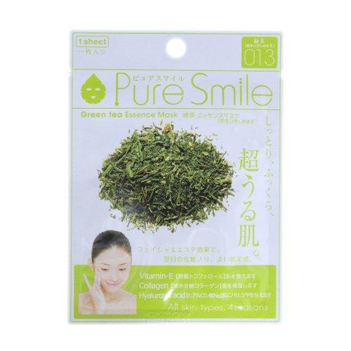 ピュアスマイルエッセンスマスクシリーズ 緑茶100枚セット