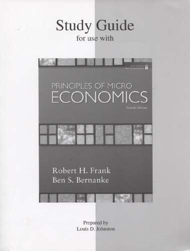 Study Guide for Principles of Microeconomics 4e