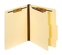 OfficeMax Manila Classification Folder, 1 Divider, Letter Size, 15/Box