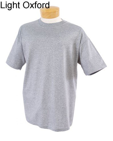 Adult's Unisex Jerzees 100% Cotton Plain Crew Neck T-shirt Available in 19 Colors and Six Sizes.