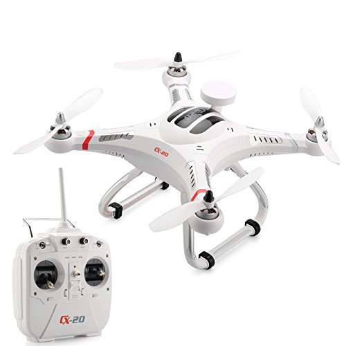 Cheerson CX20 Auto-Pathfinder FPV RC Quadcopter with GPS Auto-return Function RTF White