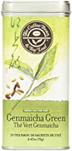 The Coffee Bean & Tea Leaf Genmaicha Green Tea, 20 Count Tin, 70g