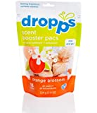 Dropps Scent Booster Pacs with In-Wash Softener + Enhancer, Orange Blossom, 7.9 Ounce (Pack of 6)