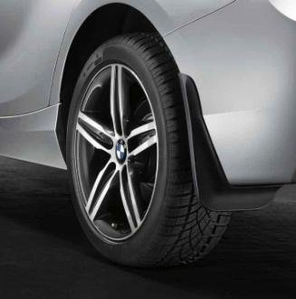 Bmw F30/F31 3 Series Sedan/Sport Wagon Rear Rubber Mud Flaps