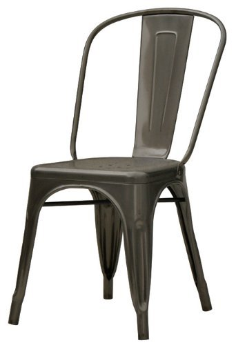 Chintaly Imports Galvanized Steel Side Chair, Set Of 4  Blogs