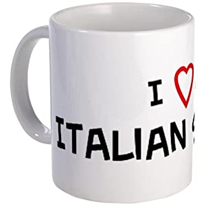 I LOVE ITALIAN SPINONES Mug