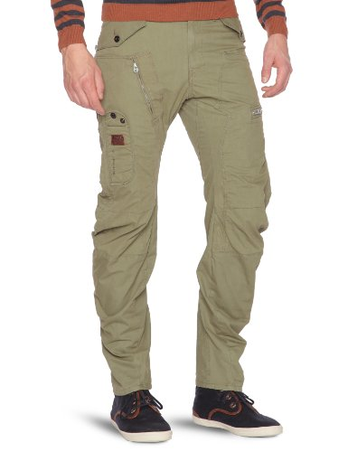 G-star Raw Aero Powel 3D Loose Tapered Men's Trousers Sage W31INxL32IN