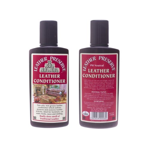 Leather Conditioner Leather Preserve 250ml GT11F