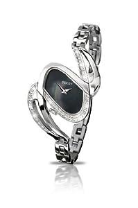 SEKSY Wrist Wear By SEKONDA Damen-Armbanduhr Analog Edelstahl silber 4860.37