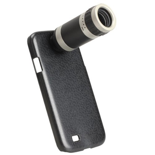 Vktech 8X Zoom Telescope Camera Lens Case Cover For Samsung Galaxy S4 Gt-I9500
