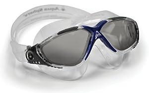 Aqua Sphere Vista Swim Mask, Grey/Blue, Smoke