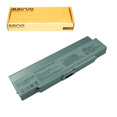 Click to buy SONY VAIO VGN-CR490EBW Laptop Battery - Premium Bavvo® 12-cell Li-ion Battery - From only $40.98