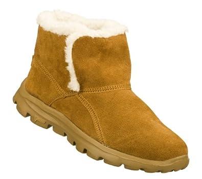 Skechers On The Go Chugga Womens Slip On Ankle Boots Chestnut 11