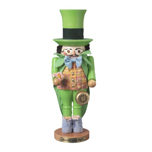 Kurt Adler 17-Inch Steinbach Wizard of Oz Signed Mayor of Emerald City Nutcracker