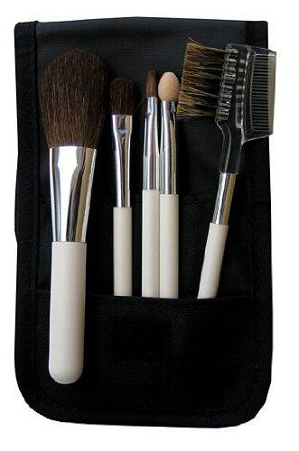 熊野筆メーカー企画 広島化粧筆5本組メイクブラシセットSB98