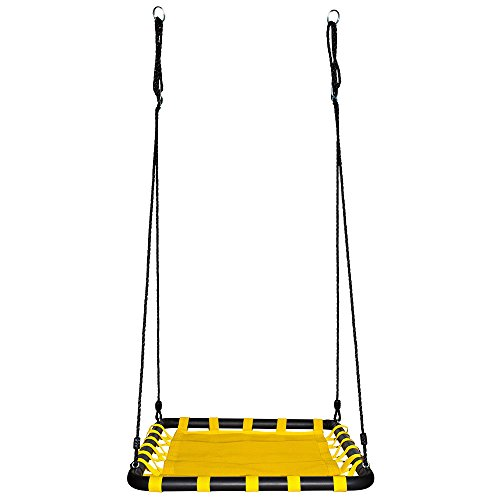 Swinging Monkey Products Giant Mat Platform Swing Yellow