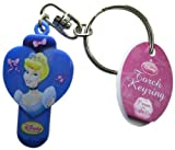 Disney Cinderella Torch Light up Keyring Keychain - Cinderella - Blue