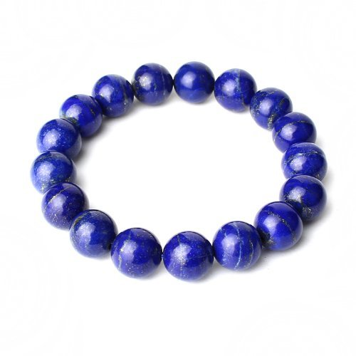 O-stone 2a Natural Lapis Lazuli Bracelet in a Thousand Years 12mm Grounding Stone Protection