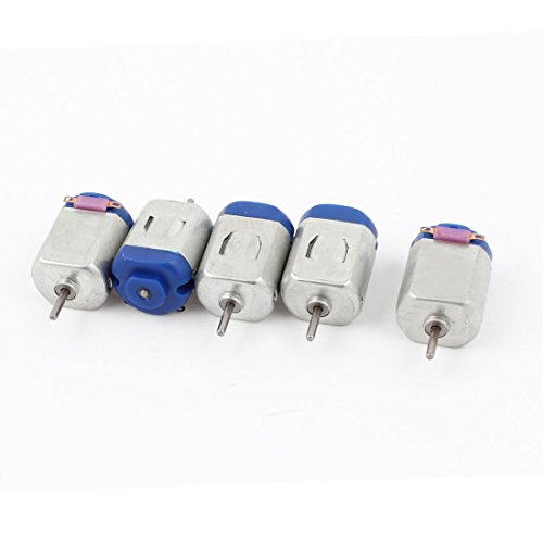 5PCS 130-16140 6V 12500RPM DC Motor w Varistor for Smart Car Model Toy
