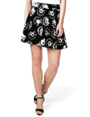 Limited Collection Daisy Print Skater Skirt