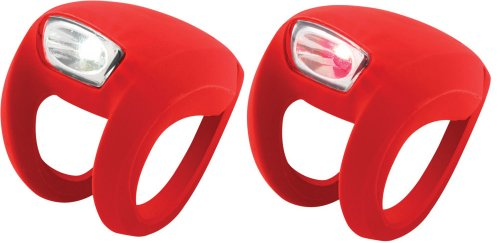 Knog Frog Strobe Twinpak - Headlight & Taillight combo Red Bodies. BE SAFE - BE SEEN !