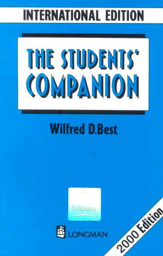 download The Students' Companion - Wilfred D  Best  pdf