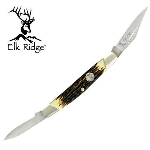 Elk Ridge Er-211I Gentleman'S Knife 2.5-Inch Closed