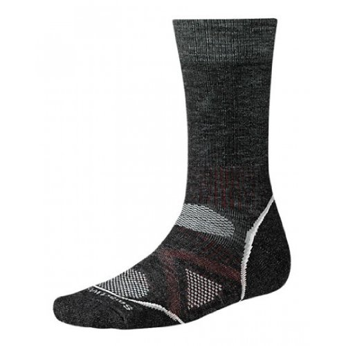 Smartwool Phd Outdoor Medium Crew Sock - Men'S Charcoal X-Large