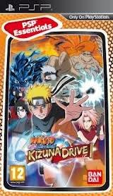 Naruto Shippuden : Kizuna Drive PSP Essentials (Sony PSP)