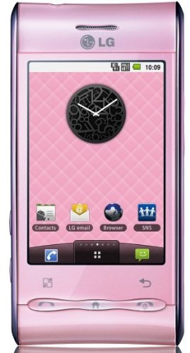 Link to LG Optimus GT540 Unlocked GSM Quad-Band Phone with 3 MP Camera, Android OS, Touch Screen, Wi-Fi, Bluetooth–International Version with No US Warranty (Baby Pink) SALE