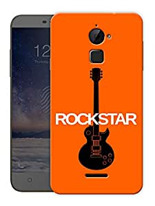 """Rockstar Guitar Printed Designer Mobile Back Cover For """"Coolpad Note 3 Lite"""" By Humor Gang (3D, Matte Finish, Premium Quality, Protective Snap On Slim Hard Phone Case, Multi Color)"""