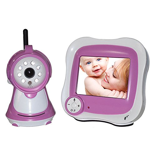 Elife 3.5 Inch Wireless High Resolution Baby Pets Video Monitor With Night-Time Vision With Remote Control
