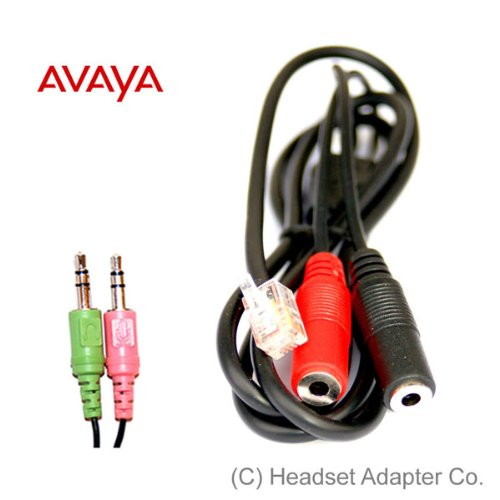 Avaya Headset Adapter For Pc Headset
