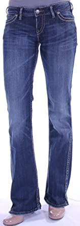 Women's Frances 18 in Indigo by Silver Jeans Company - 25