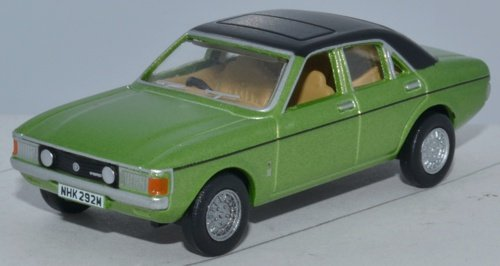 Oxford Diecast 76FC004 Ford Consul Granada Onyx Green