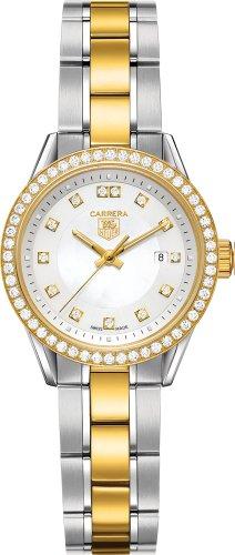 Tag Heuer Carrera Two Tone Diamond Ladies Watch