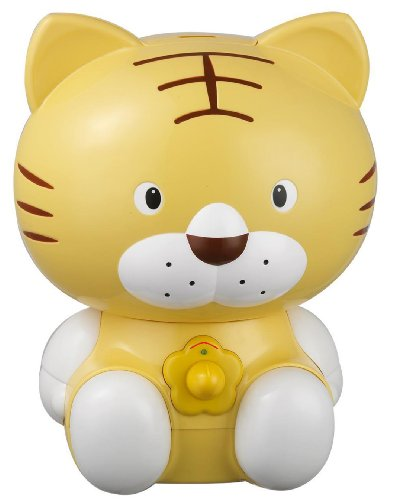 SPT Tiger Ultrasonic Humidifier, Yellow - 1