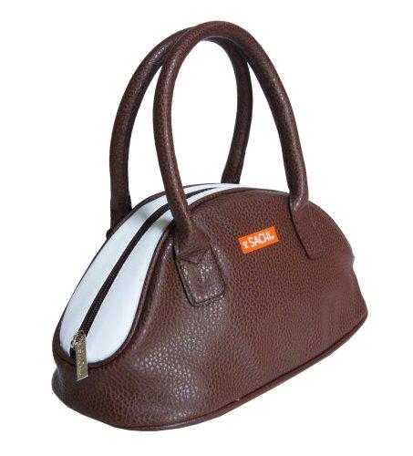 Fashion Purse: Sachi 06-063 Fashion Insulated Lunch Bag, Brown