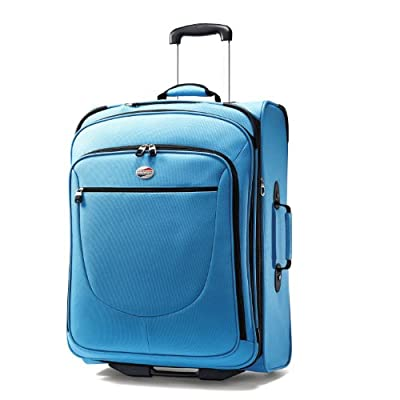 American Tourister Luggage Splash 25 Upright Suitcase, Turquoise, 25 Inch