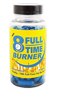 Full-time Fat Burner - Get The Best Natural Fat Burning Supplement For Both Men And Women - Lose Weight With Weight Loss Diet Pills That Work Fast from Full-Time